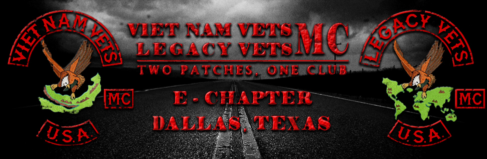 Vietnam Vets - Legacy Vets MC, Two Patches, One Club - A Chapter, California
